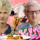 Center-rap och stel pasta: Valrörelsens weirdest