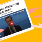 Därför röstade Centerpartiet och Liberalerna nej till Ulf Kristersson