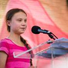 """Thunberg i New York: """"Det var hon som startade allt"""""""